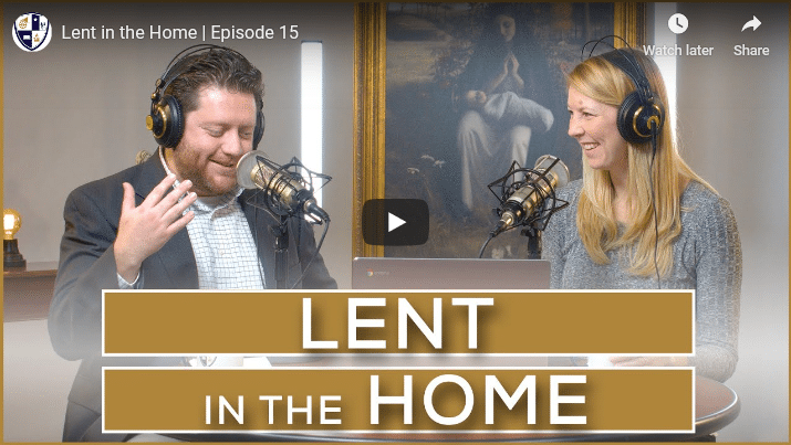 Lent in the Home