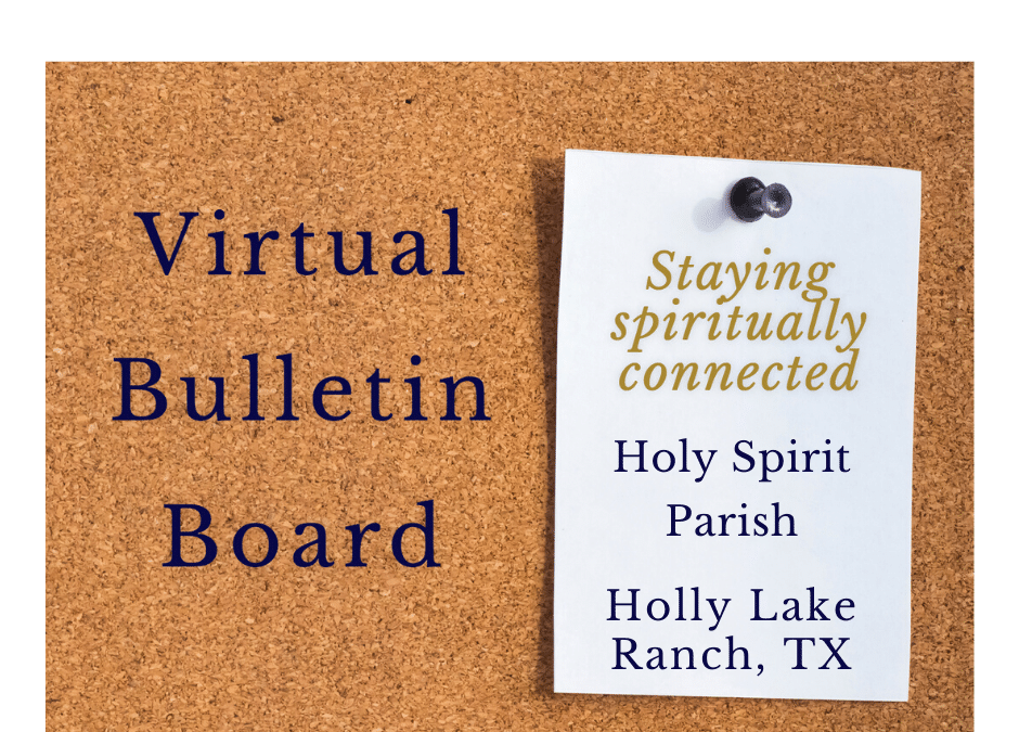 Adoration and Confession in Holly Lake Ranch