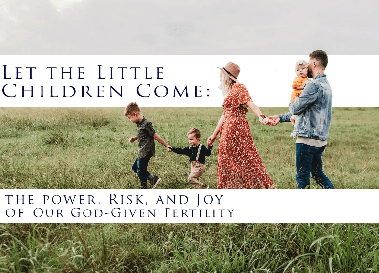 Let the Little Children Come: The Power, Risk, and Joy of our God-Given Fertility