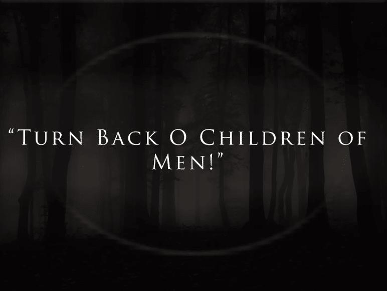 Turn Back O Children of Men