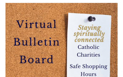 Catholic Charities Provides a List of Safe Shopping Hours