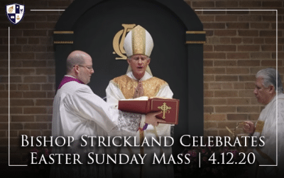 Bishop Strickland Celebrates Easter Sunday Mass | 4.12.20