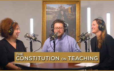 The Constitution on Teaching