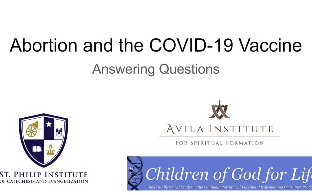 Abortion and the COVID-19 Vaccine Webinar